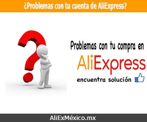 ¿Problemas con tu compra en AliExpress?