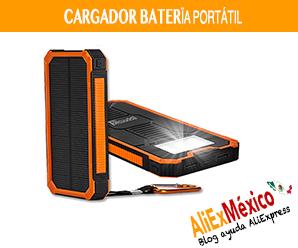 Comprar cargador solar portátil en AliExpress