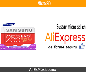 Comprar tarjeta de memoria micro SD en AliExpress