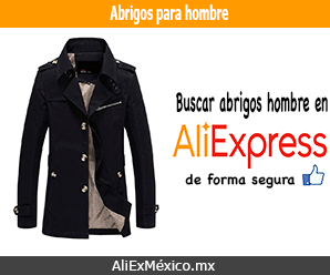Comprar abrigos para hombre en AliExpress