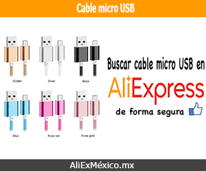 Comprar cable micro USB en AliExpress