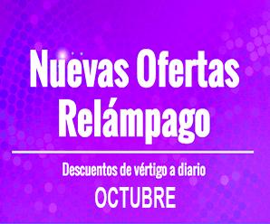 Ofertas relámpago Octubre en AliExpress