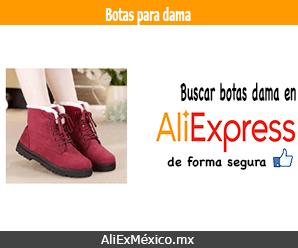 Comprar botas para dama en AliExpress