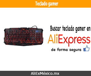 Comprar teclado gamer en AliExpress