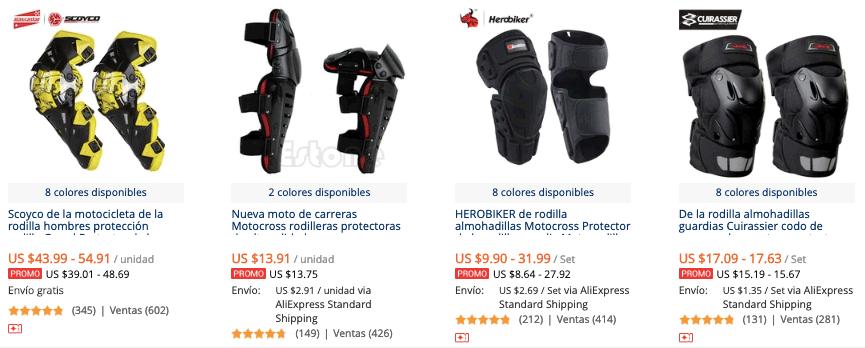 cdbc70b7872 Rodilleras para Motociclista más vendidas en AliExpress