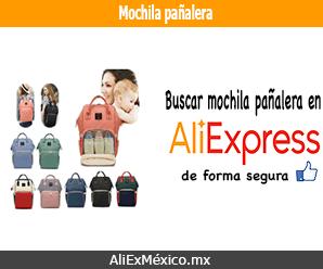 Comprar mochila pañalera en AliExpress desde México