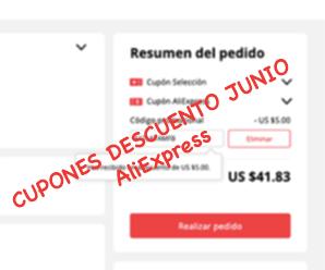 Cupones Junio 2019 en AliExpress para México