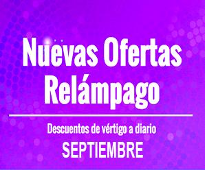 Septiembre de descuentos en AliExpress México