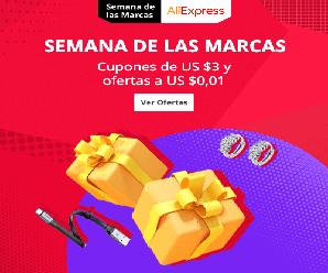 Semana de las Marcas en AliExpress ¡ofertas increíbles!