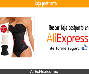 Comprar faja postparto en AliExpress