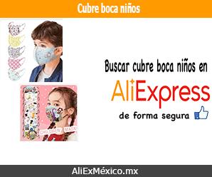 Comprar cubre boca para niños en AliExpress