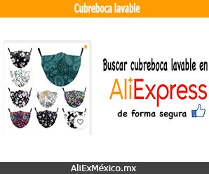 Comprar cubreboca de tela lavable en AliExpress
