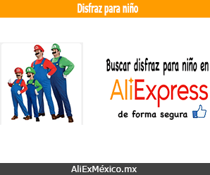 Comprar disfraz para niño en AliExpress