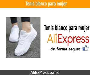 Comprar tenis blanco para mujer en AliExpress