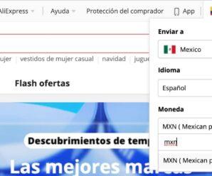 AliExpress México: como ver los precios en pesos mexicanos MXN